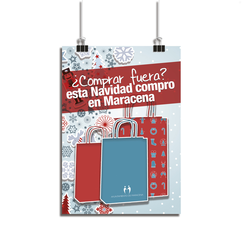 Cartel Compras Navidad