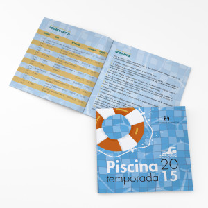 Folleto piscina