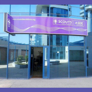 Scouts  letrero